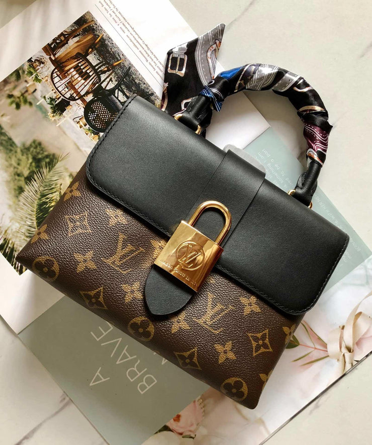 LV - Locky BB Monogram Black