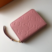LV - Pale Pink Wallet Zippy Monogram