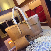 LV Neverfull MM Chain Brown