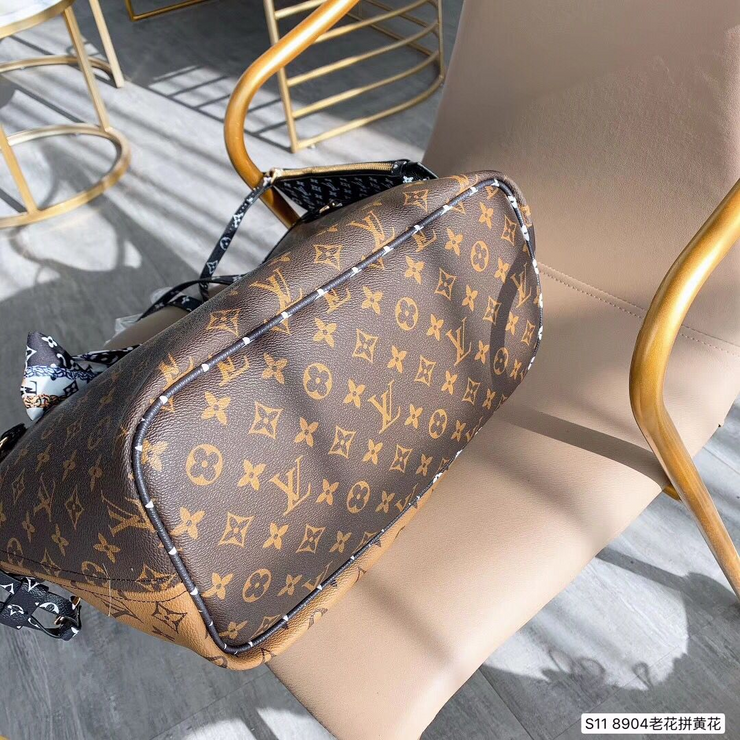 LV Neverfull MM Double Face