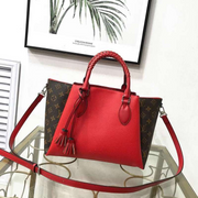 LV Neverfull dual colors - Red