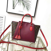 LV Neverfull dual colors - Burgundy