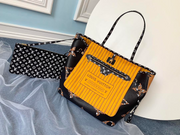 LV Neverfull MM Black