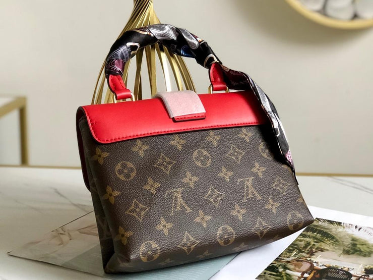 LV - Locky BB Monogram Red