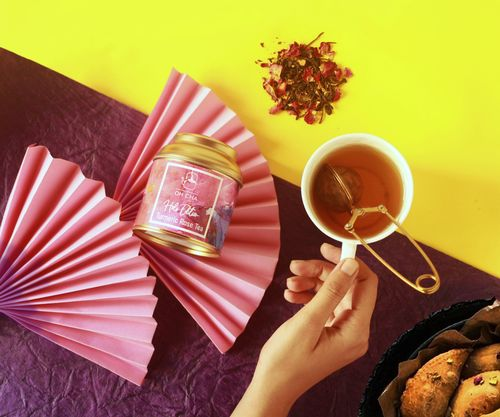 Turmeric Rose Tea