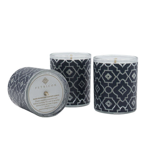Petricor Midnight Blue Votive Candles - Lavender
