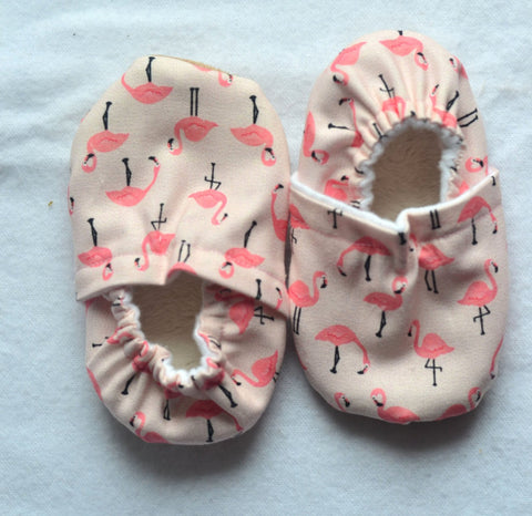 Flamingo Baby Shoes