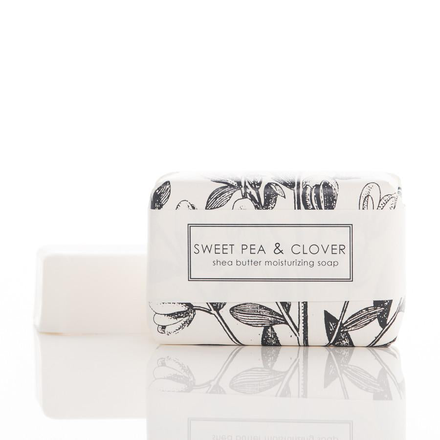 Shea Butter Bath Bar - Sweet Pea & Clover