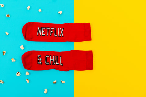 Netflix And Chill (Women's) Socks