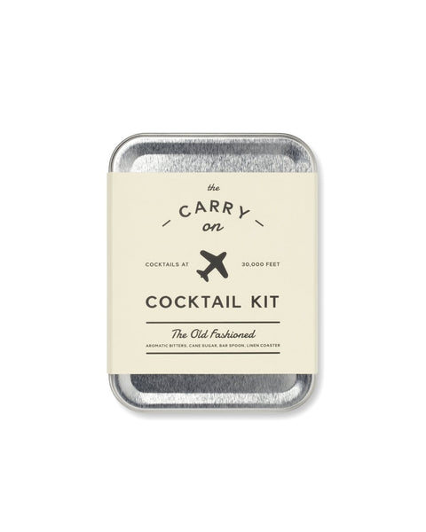 The Old Fashioned Carry On Cocktail Kit