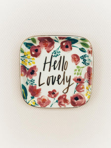 Hello Lovely Trinket Dish
