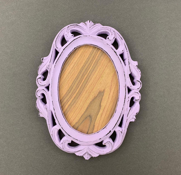 Purple Carved Photo Frame