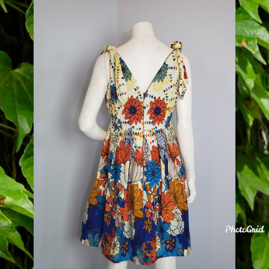 Yolo Minshe Dress -Flowerprint