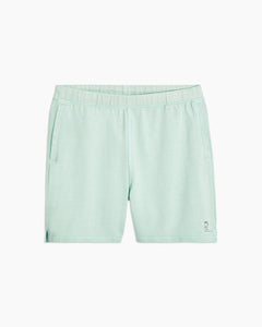 Garment Dyed French Terry Short in Cool Mint - 7 - Onia