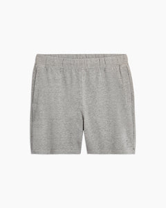 Garment Dyed French Terry Short in Heather Grey - 31 - Onia