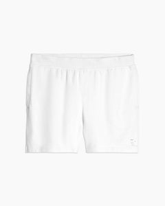 Garment Dyed French Terry Short in White - 16 - Onia