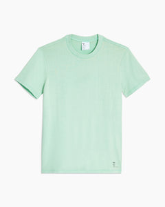 Garment Dyed Jersey Crewneck Tee in Cool Mint - 1 - Onia