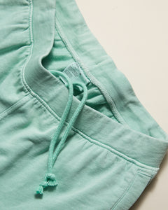 Garment Dyed French Terry Short in Cool Mint - 8 - Onia