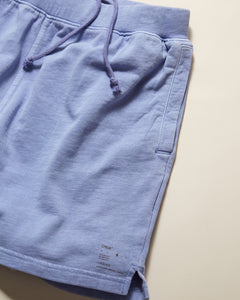 Garment Dyed French Terry Short in Pale Iris - 23 - Onia