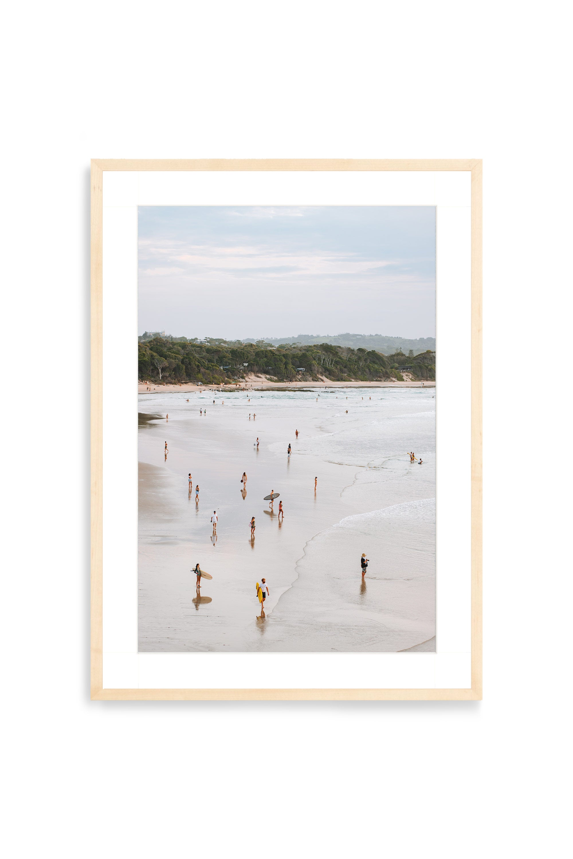 'Byron Beach' Photography Print By Carley Rudd in  - 1 - Onia