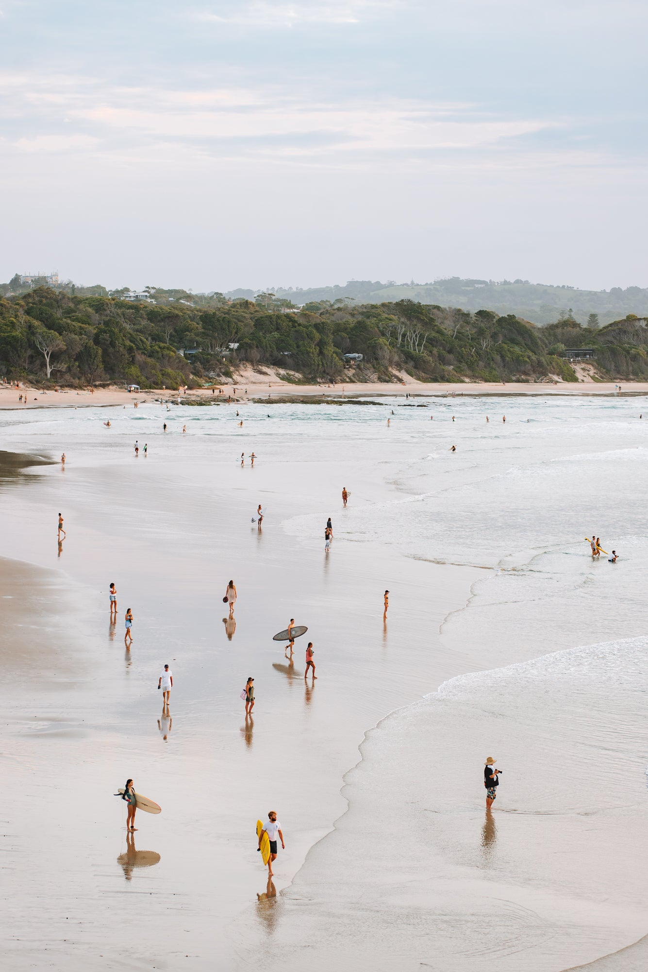 'Byron Beach' Photography Print By Carley Rudd in  - 2 - Onia
