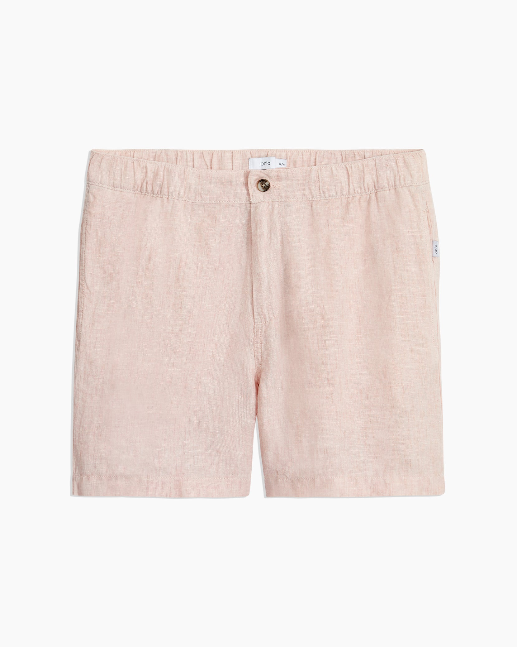 Moe Linen Shorts in Evening Sand - 1 - Onia