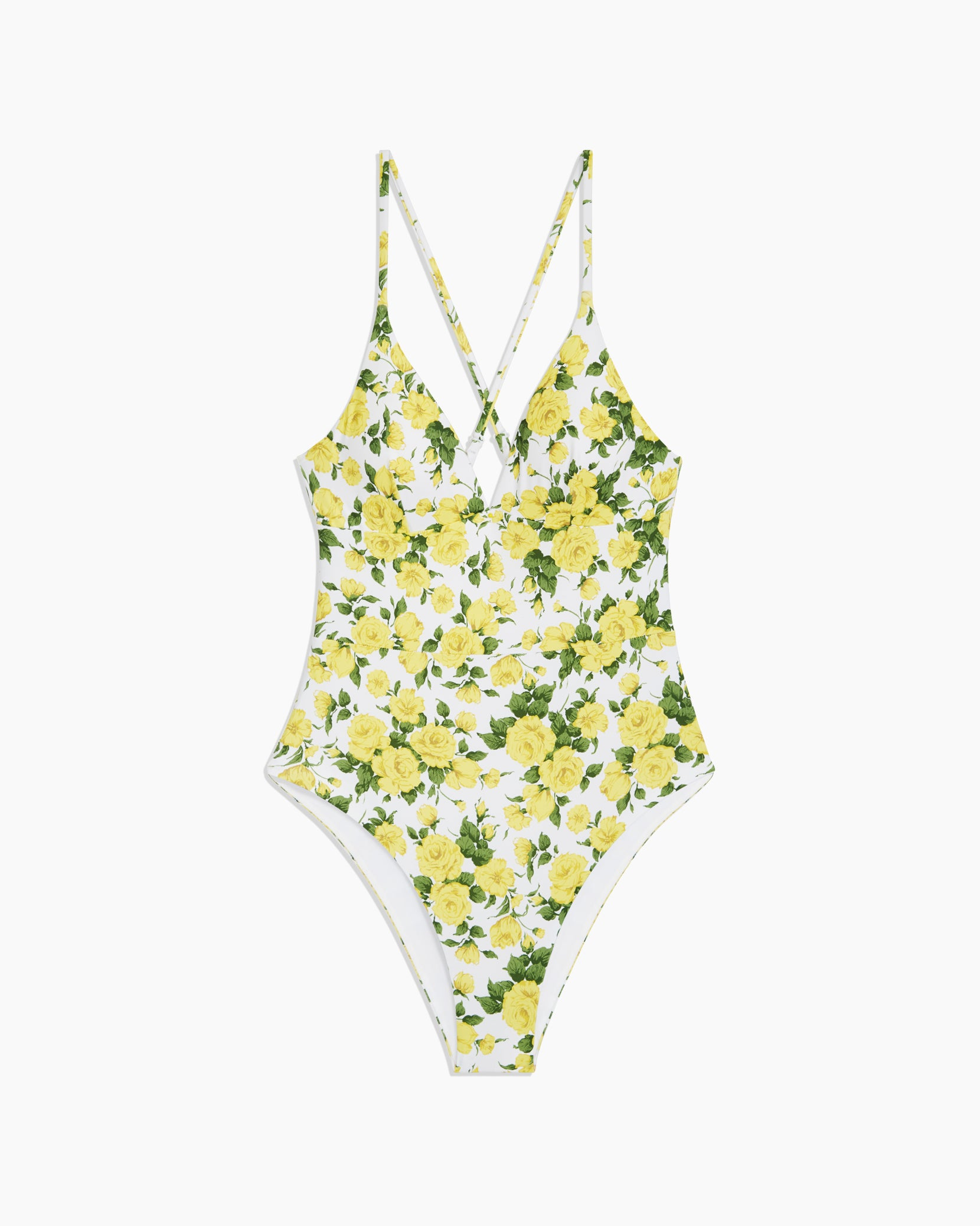Liberty Rose Valentina One Piece in White Multi - 5 - Onia