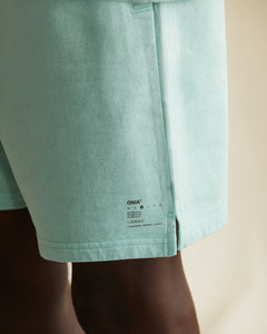 Garment Dyed French Terry Short in Cool Mint - 9 - Onia