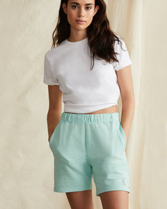 Garment Dyed French Terry Short in Cool Mint - 14 - Onia