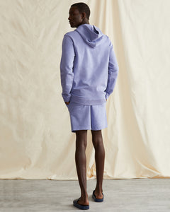 Garment Dyed French Terry Short in Pale Iris - 26 - Onia