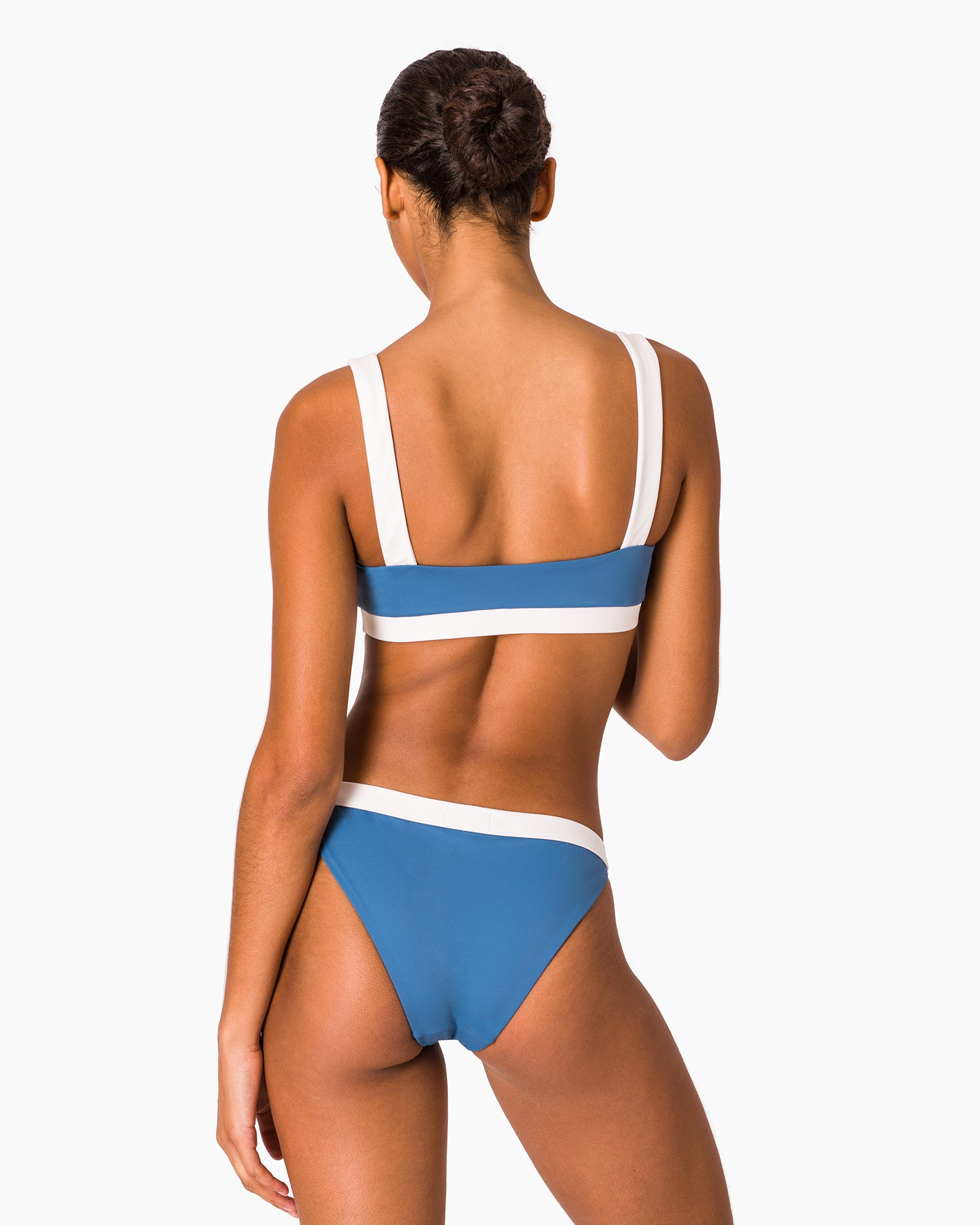 Leila Bikini Bottom in Cobalt Multi - 7 - Onia