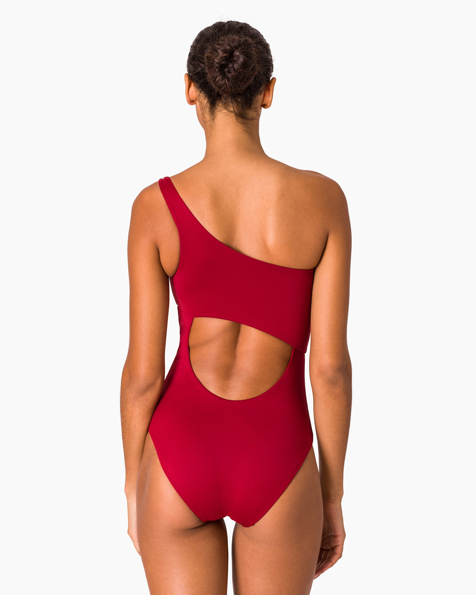 Sienna One Piece in Deep Red - 16 - Onia