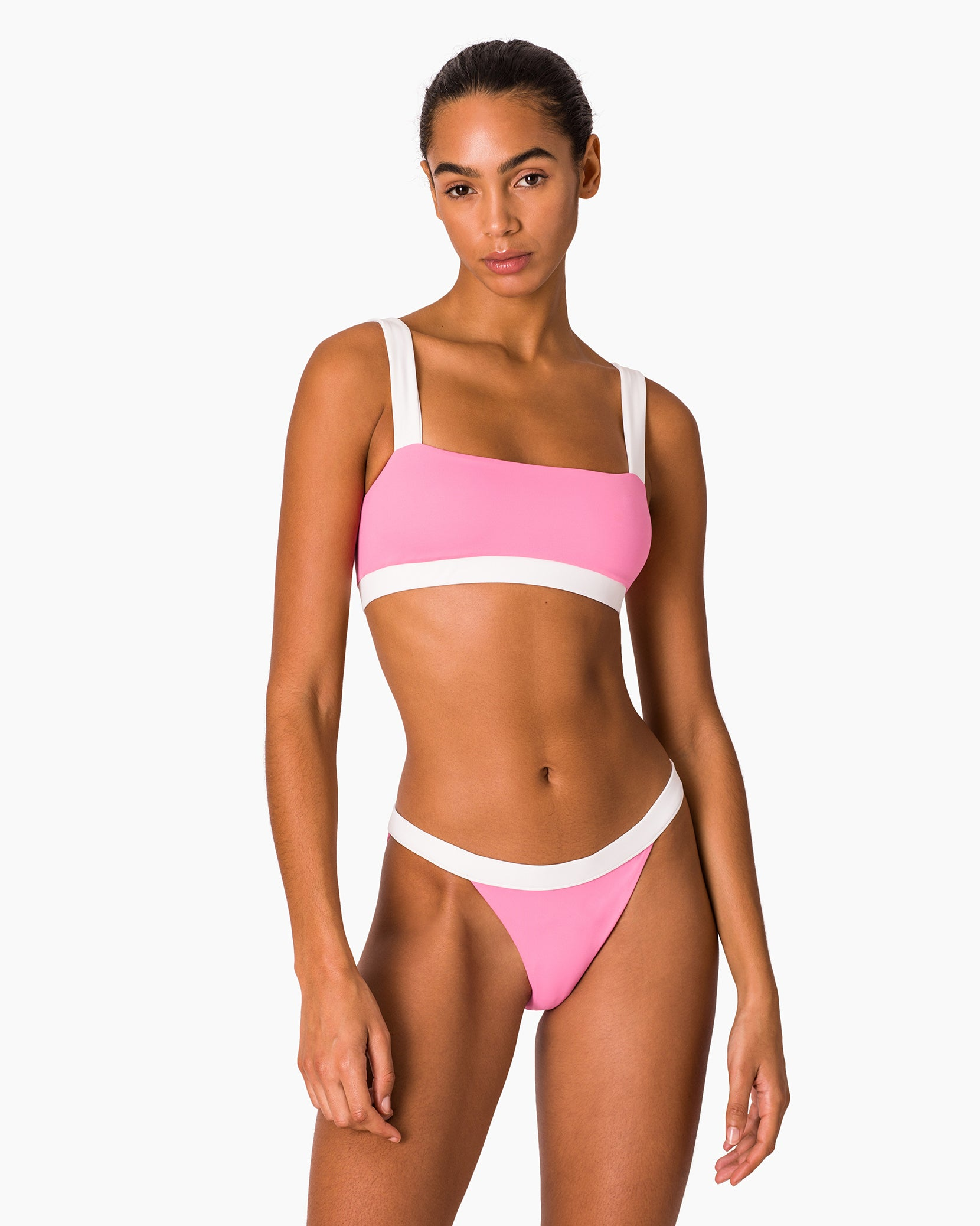 Leila Bikini Bottom in Bubblegum Multi - 3 - Onia