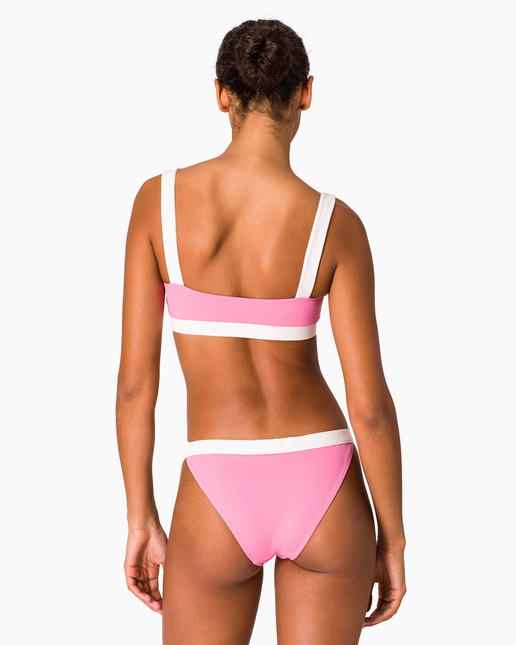 Leila Bikini Bottom in Bubblegum Multi - 2 - Onia