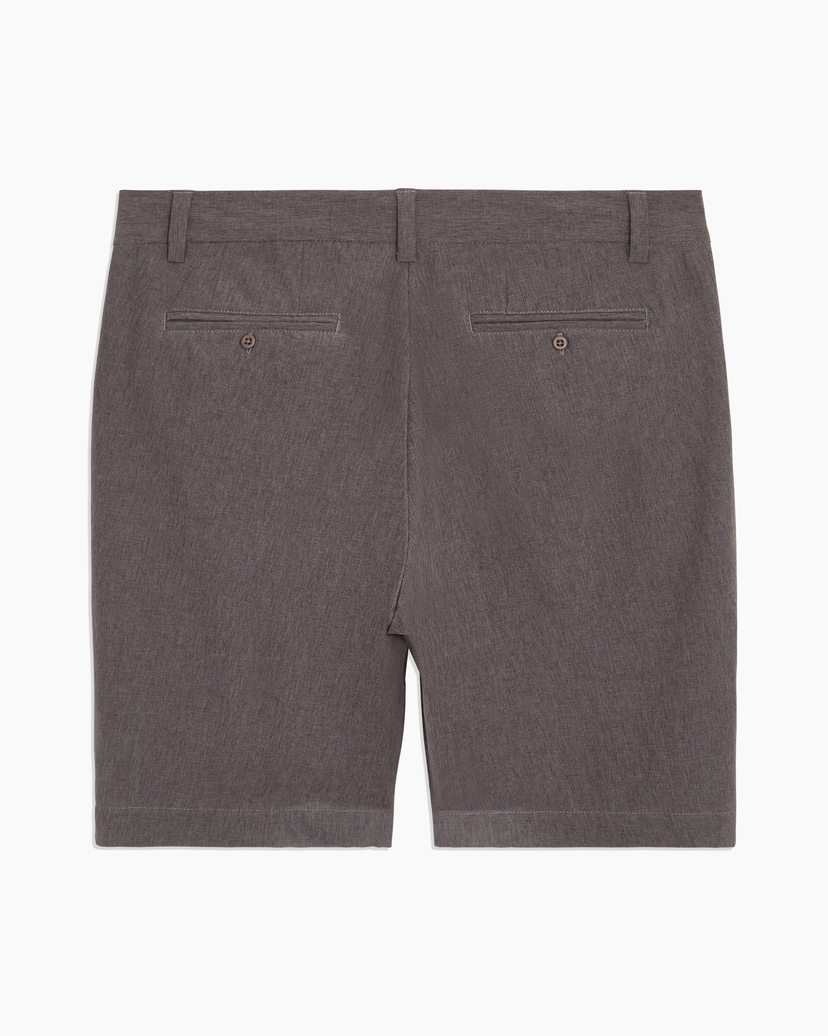 Versatility Stretch Chambray Short in Charcoal - 13 - Onia