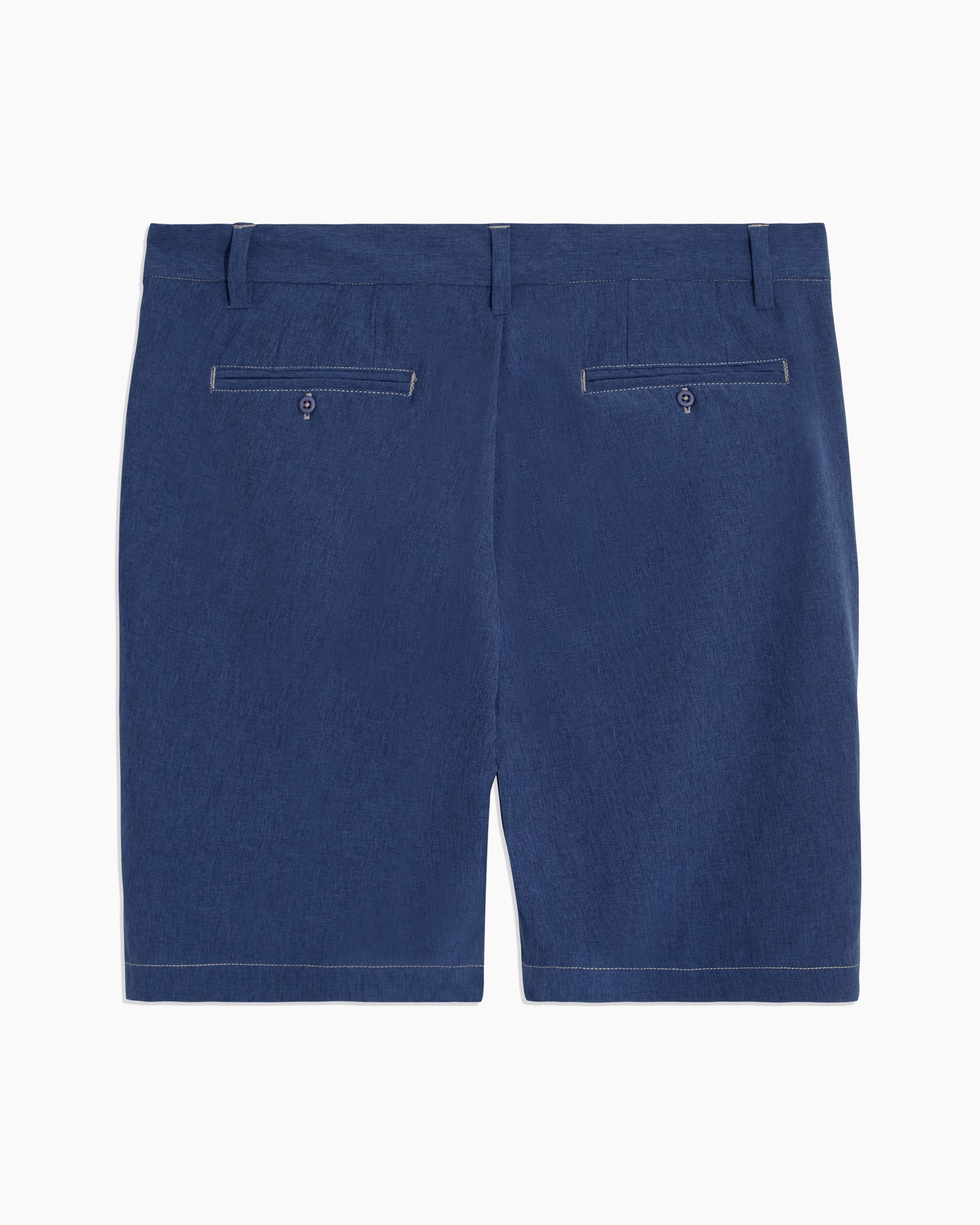 Versatility Stretch Chambray Short in Denim - 16 - Onia