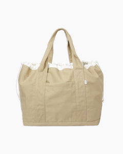 Linen Tote Bag in Dune - 3 - Onia