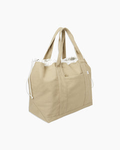 Linen Tote Bag in Dune - 4 - Onia
