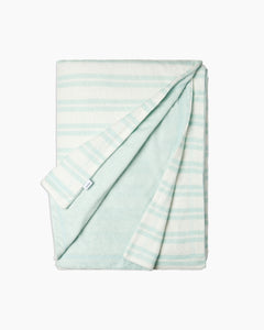 Terry Reversible Beach Towel in Caribbean Breeze - 7 - Onia