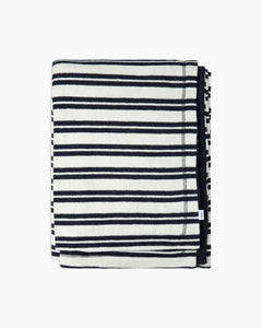 Terry Reversible Beach Towel in Deep Navy - 1 - Onia
