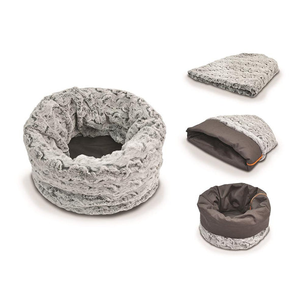 P.L.A.Y SNUGGLE BED - HUSKY GREY