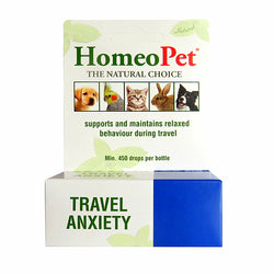 HOMEOPET TRAVEL ANXIETY FOR DOGS