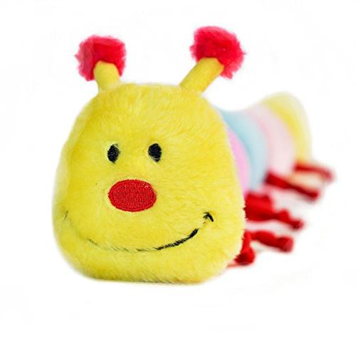 Zippy Paws CATERPILLAR WITH 6 SQUEAKERS