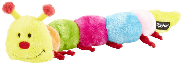 Zippy Paws CATERPILLAR DELUXE WITH 6 BLASTER SQUEAKERS
