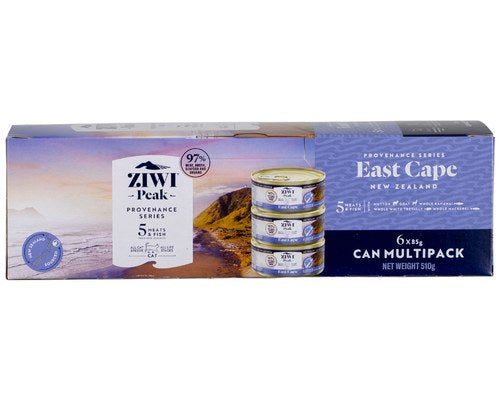 ZIWI PEAK PROVENANCE CAT CAN FOOD EAST CAPE  85GM