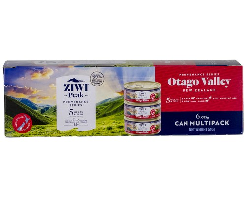 ZIWI PEAK PROVENANCE CAT CAN FOOD  OTAGO VALLEY  85GM
