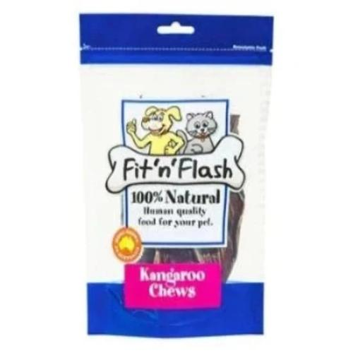 FIT 'N' FLASH KANGAROO CHEWS 120G