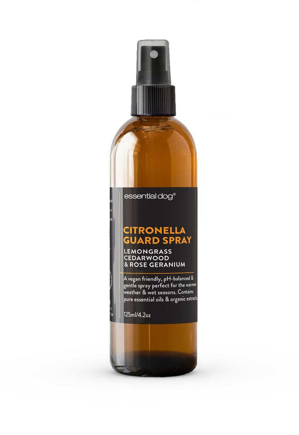 CITRONELLA GARD SPRAY: LEMONGRASS, CEDARWOOD AND  ROSE  GERANIUM 125 ML