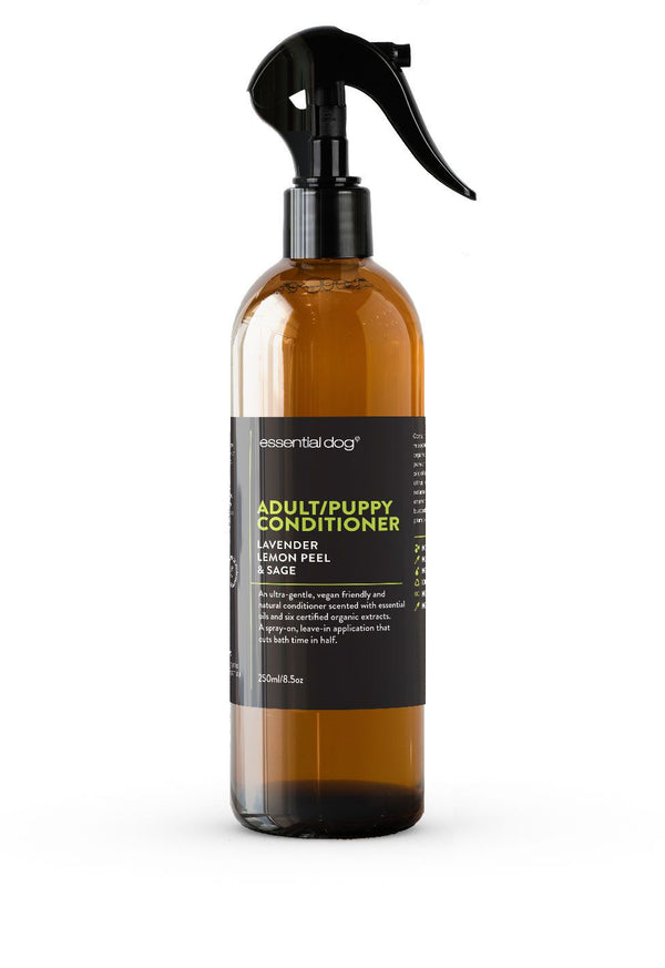 NATURAL DOG CONDITIONER LAVENDER, LEMON PEEL & SAGE (ADULTS & PUPPIES) 250 ML