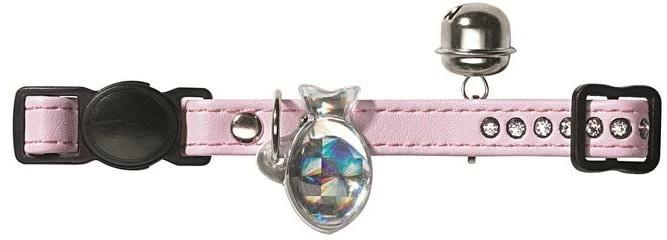 HUNTER INTERNATIONAL MODERN ART LUXUS CAT  COLLAR - PINK